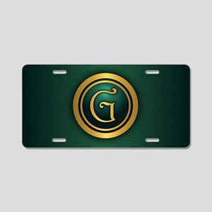 Irish Luck G Aluminum License Plate