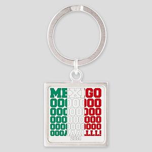 MexiGOAL   Square Keychain
