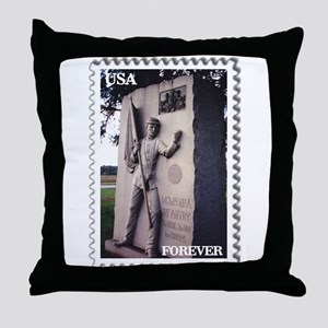 143rd PA Infantry - Gettysburg Throw Pillow