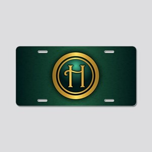 Irish Luck H Aluminum License Plate
