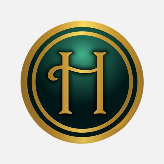 "Irish Luck H 3.5"" Button"