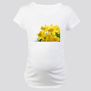 Daffodils Style Maternity T-Shirt