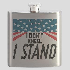 I Don't Kneel Flask