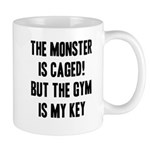The monster is caged Mugs