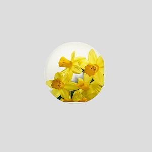 Daffodils Style Mini Button