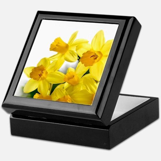 Daffodils Style Keepsake Box