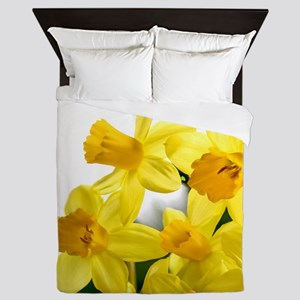 Daffodils Style Queen Duvet
