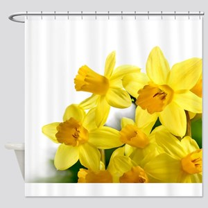 Daffodils Style Shower Curtain