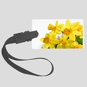 Daffodils Style Luggage Tag