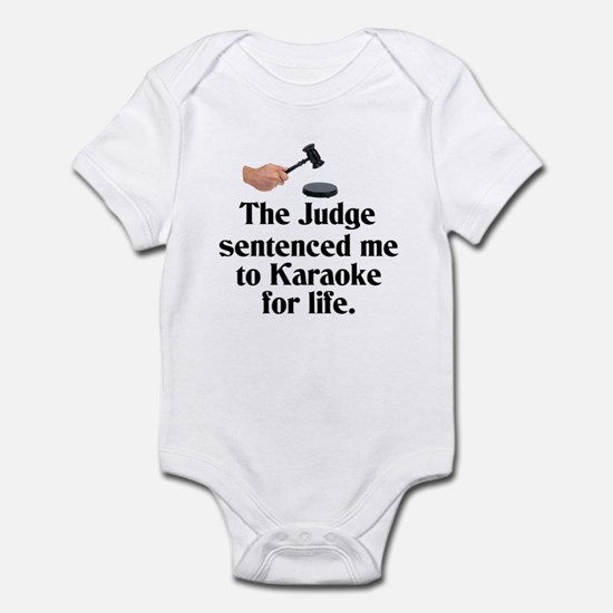 The Judge Infant Bodysuit