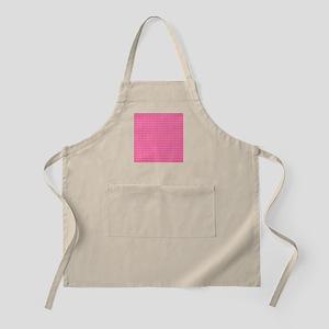 Modern Pink Art Pattern Apron