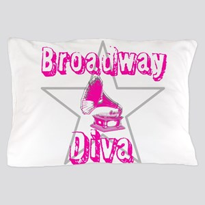 Broadway Diva Pillow Case