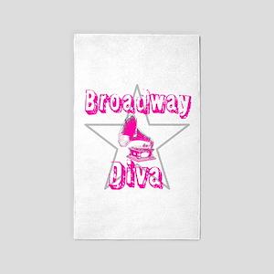 Broadway Diva 3'x5' Area Rug