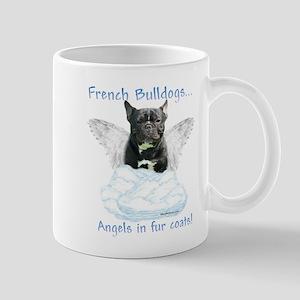 Frenchie Angel Mug