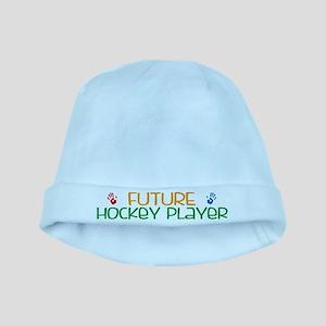 Future Hockey player baby hat