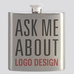 Logo Design - Ask Me About - Flask