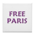 Free Paris Tile Coaster