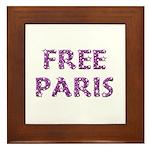 Free Paris Framed Tile