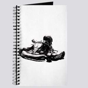 Kart Racer Pencil Sketch Journal