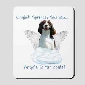 Springer Spaniel Angel Mousepad