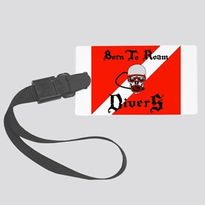 Born To Roam Divers Luggage Tag