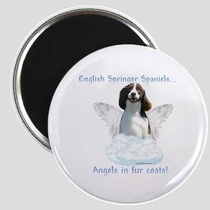 Springer Spaniel Angel Magnet