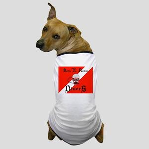 Born To Roam Divers Dog T-Shirt