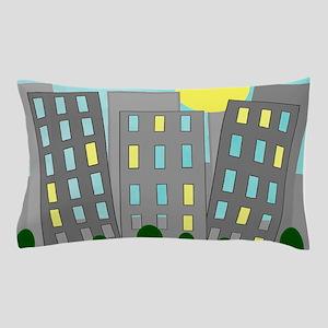 Mid Century Buildings Pillow Case