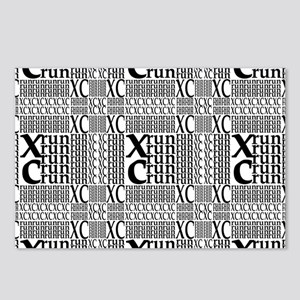 XC Run Repeats Postcards (Package of 8)