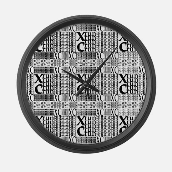 XC Run Repeats Large Wall Clock