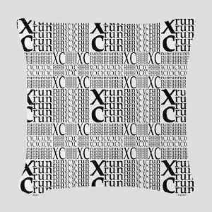 XC Run Repeats Woven Throw Pillow