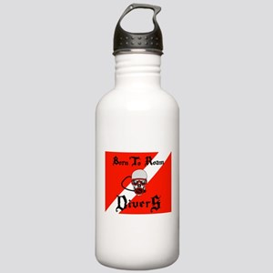 Born To Roam Divers Water Bottle