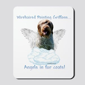 Wirehaired Angel Mousepad