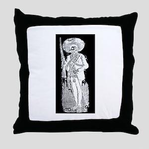 Emiliano Zapata - Mexican Rev Throw Pillow