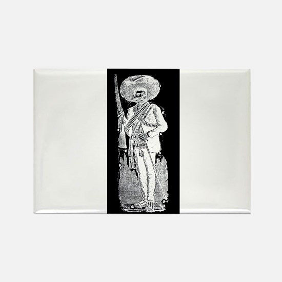Emiliano Zapata - Mexican Rev Rectangle Magnet