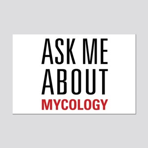 Mycology - Ask Me About Mini Poster Print