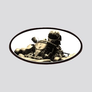 Kart Racer Sepia Tone Patches