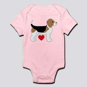 Beagle Love Infant Bodysuit