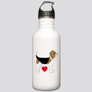 Beagle Love Stainless Water Bottle 1.0L