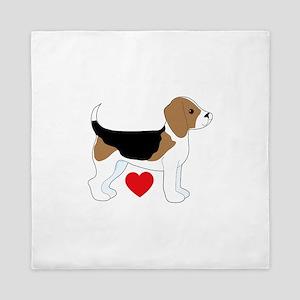 Beagle Love Queen Duvet