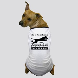 Dock Jumping Dog Dog T-Shirt