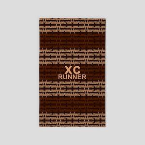 XC Runner brown 3'x5' Area Rug