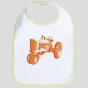 Serigraph Tractor Hot Bib