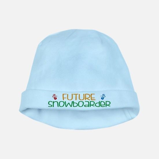 Future snowboarder baby hat