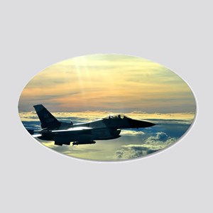 F-16 Wall Decal