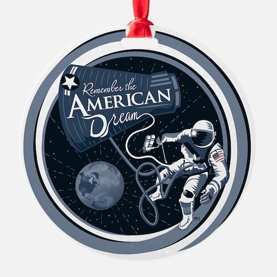 American Dream Ornament