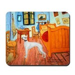 Room with a Whippet Mousepad