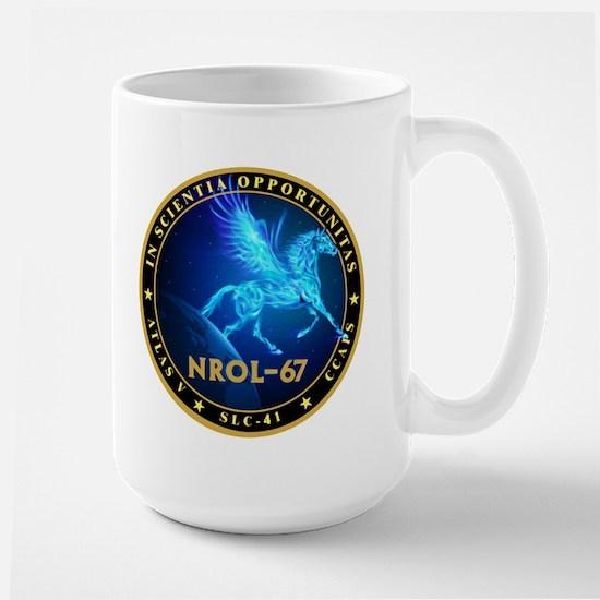NROL 67 Program Large Mug