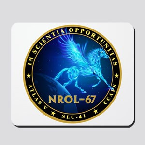 NROL-67 Program Team Mousepad
