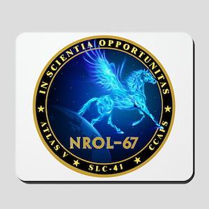 NROL-67 Program Team Mousepad